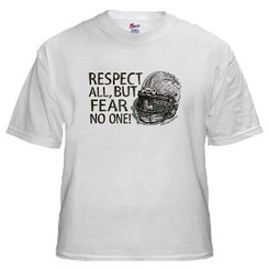 Imprinted t-shirts, one side with one color on our GILDAN Ultra All Cotton Preshrunk  S-XL, qty100