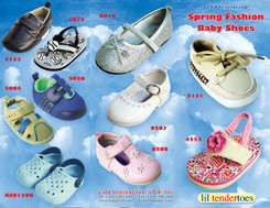 luna cover front baby shoes