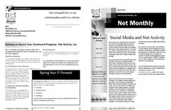 Net Activity newsletter out