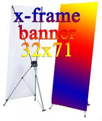 x frame banner