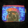 Laurel Birch Pink Zip Cosmetic Bag