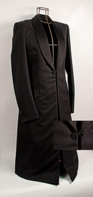 Ladies Premier Black Formal Coat- Close out sale