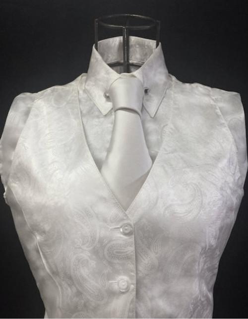 Ladies' Cream Limited Edition Paisley Shirt