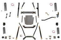 "XJ 6.5"" Long Arm Lift Kit W/Rear Coil Conversion Clayton Offroad"