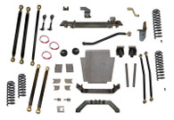 "XJ  8.0"" Pro Series 3 Link Long Arm Lift Kit W/Rear Coil Conversion Clayton Offroad"