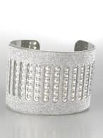 Silver Shiny Cuff Bangle