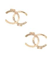 Chic Bling Stud Earrings