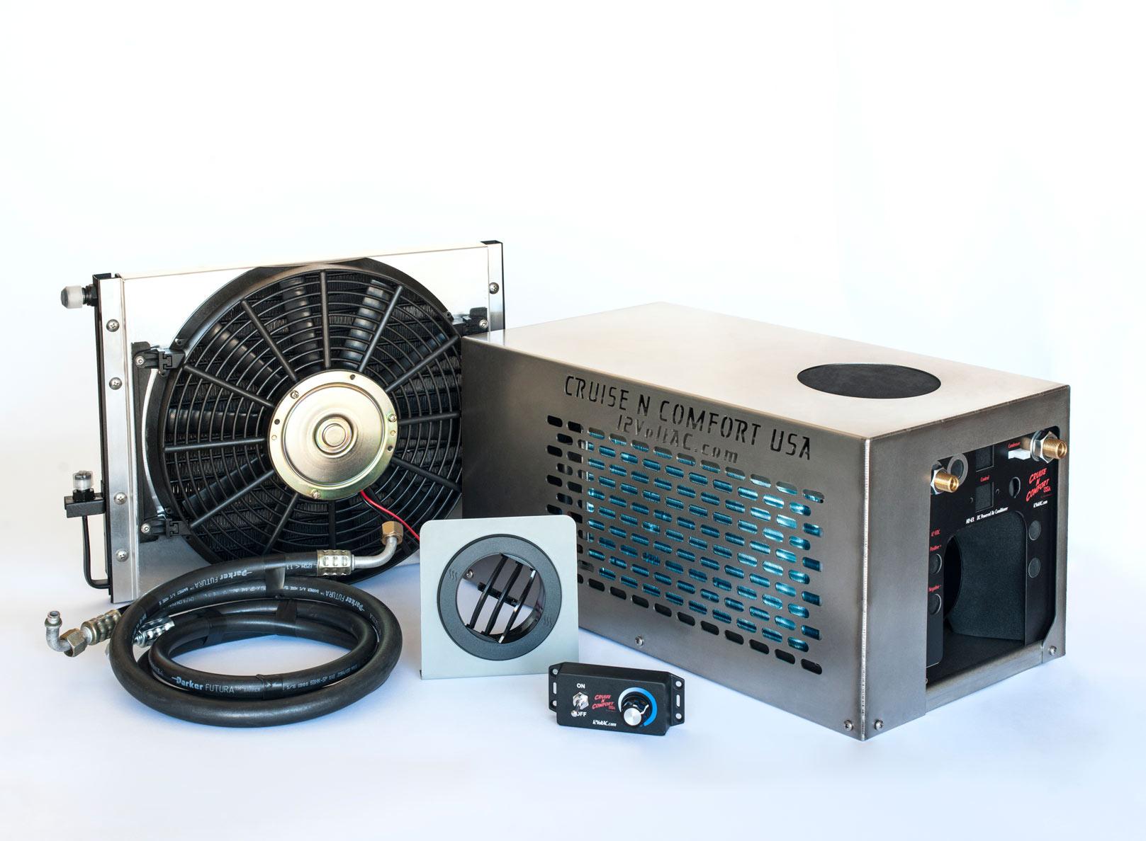 12 Volt Cooling Units : Hd l volt dc mini split system air conditioner