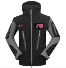 Black Jacket with SG Helmet logo
