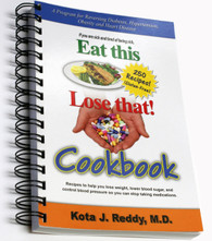 Eat This, Lose That Cookbook by Dr. Kota J Reddy