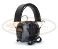 Digital AM/FM Stereo Radio Hearing Protector Headphones  -  NRR26-H