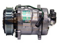 Air Conditioning Compressor for Bobcat® Skid Steer S750 S770 S850 T630 T650  |  Replaces OEM # 7023580