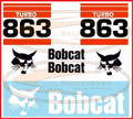863 Decal Sticker Kit for Bobcat® Skid Steers  -  AK- 6731474-TK
