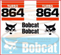 864 Decal Sticker Kit for Bobcat® Skid Steers AK- 6717233-TK