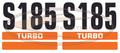 S185 Decal Sticker Kit for Bobcat® Skid Steer AK- 6732533