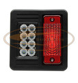LED Tail Light Assembly for M-SERIES Bobcat® Skid Steers  -  AK- 6670LED/B