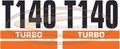 T140 Decal Sticker Kit for Bobcat® Skid Steer      |    Replac OEM # 7103182