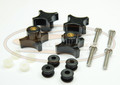 Top Glass Knob Kit  for 751 753 763 773 863 873 883 963 S100 S130 S150 S160 S175 S185 S205 S220 S250 S300 S330 T110 T140 T180 T190 T200 T250 T300 T320  A300  -  AK- 6681614-1 / A