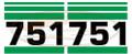 751 Decal Sticker Kit for Bobcat® Skid Steer AK- 6714531