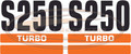 S250 Decal Sticker Kit for Bobcat® Skid Steer  AK- 6732444
