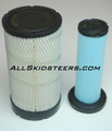 Engine Air  Filter Kit for Bobcat® S185 S205 S220 S250 S300 S330 T180 T190 T250 T300 T320  -  AK- 6698057