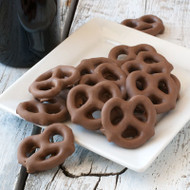 Chocolate Pretzels - 4oz
