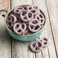 Blueberry Yogurt Pretzels