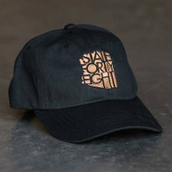 Black and Copper Dad Hat