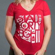 State Forty Eight - Red Teacher Shirts