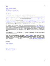 Investor Cover Letter