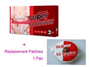 """2Max Super Fat Breaker + 1 Extra pair of  """"Replacement Patch"""""""