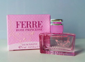 FERRE ROSE PRINCESS - Eau De Toilette Mini Perfume (5ml)