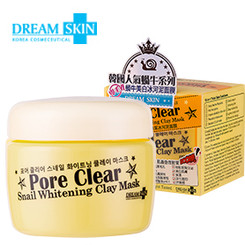 Dream Skin - Pore Clear Snail Whitening Clay Mask (100ml)