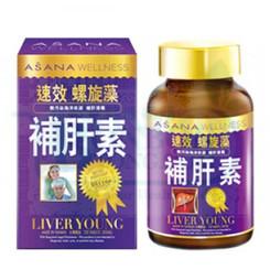 ASANA WELLNESS Liver Young  (120 Capsules)