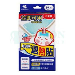 Kobayashi Pharmaceutical Netsusama Cooling Gel Sheet(Children) 6pcs