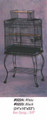 Parrot Cage with Open Top with Stand 224