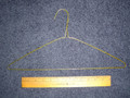 16 Inch Goldtone Wire Suit Clothes Hangers Box of 500