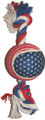 Rope Tug w/ Tennis Ball Liberty 14""