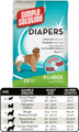 Simple Solution Disposable Diapers (X-Large, 12 Pack)