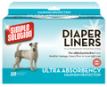 Simple Solution Disposable Liners - Ultra Absorbency (10 per box)