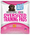 OUT! Moisture Lock X-Large Training Pads - 30 Pads