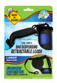 Bags on Board Large Retractable Leash - Black