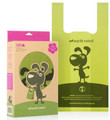 Waste Pickup Poop Bags - 120 Biodegradable Handle Bags