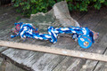 Big  Blue and White Rope Tug 20""