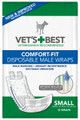 Comfort-Fit Disposable Male Wrap SM (12 Pack)