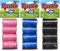 8 Roll Poop Bags (24 packs of 8 rolls) PINK
