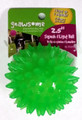 Gnawsome Dental Ball Squeak & Light Chew Toy -- Small