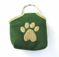 """Peace"" Tags -- Pet ID Tag Covers -- Green"