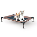 Original Pet Cot Large Choc/Mesh