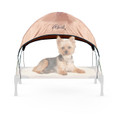 Pet Cot Canopy, Small Tan